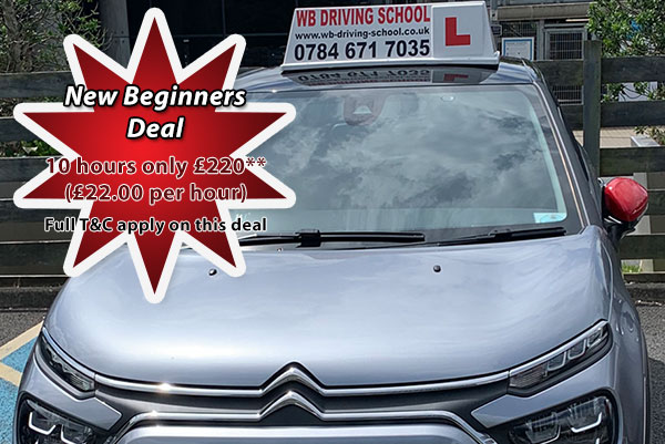 New learner deal offer