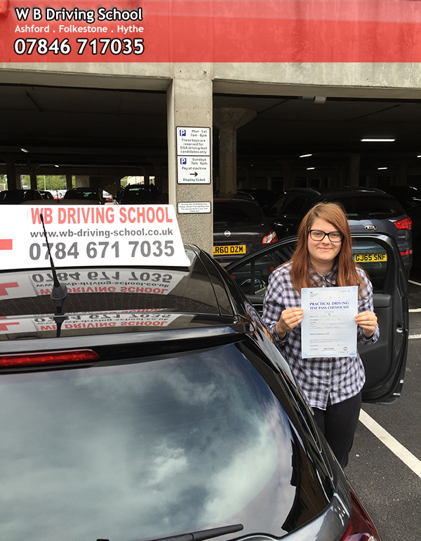 Nicole pass test in Ashford